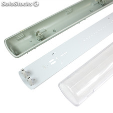 Pantalla Estanca para dos Tubos de LED T8 600mm