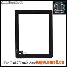 Pantalla Ipad 2 Digitalizador Touch Screen Blancoy Negro