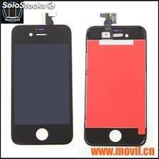 Pantalla Iphone 4s 4g Touch + Digitalizador En Blanco Y Negro