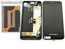 Pantalla Lcd Display + Tactil con Marco Blackberry Z10 3G (15pin 001/111) - Neg
