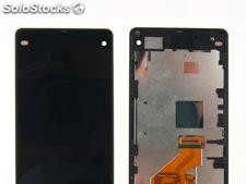 Pantalla Lcd Display + Tactil con Marco Frontal Sony Xperia Z1c Compact Z1C M51W