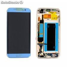 Pantalla LCD Display + Tactil Original para Samsung Galaxy S7 Edge G935F - Azul