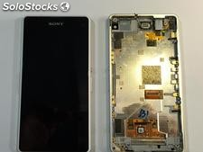 Pantalla lcd + tactil completa con marco Sony Xperia Z1c Compact Z1C M51W D5503