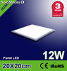 Pantalla led luz fria panel led 12w 200x200x12.5mm 750lm - Foto 1