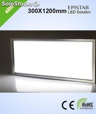 Pantalla superficie 48w led 300x1200mm 4000lm