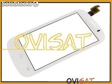 Pantalla táctil Alcatel One Touch Pop C3, 4033, 4033D blanca