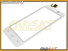 Pantalla táctil Alcatel One Touch Pop D5, 5038D, blanca