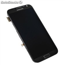 Pantalla Tactil + LCD Display Original para Samsung Note 2 N7100 - Titan Grey /