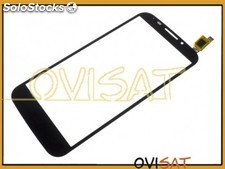 Pantalla táctil negra para Alcatel One Touch Pop S7, OT 7045