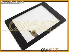 Pantalla táctil tablet Alcatel One Touch Evo 8 HD, negra