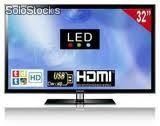 "Pantalla tv full (1080p) led 32"" marca golden vision"