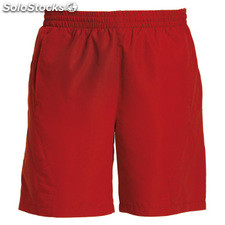 Pantalon corto Hombre 12 rojo sport collection