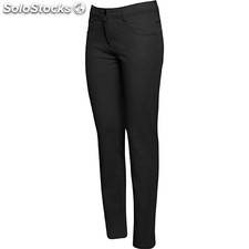 Pantalon court Femme noir custom classic collection