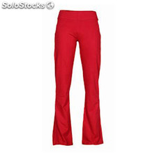 Pantalon court Femme rouge sport collection
