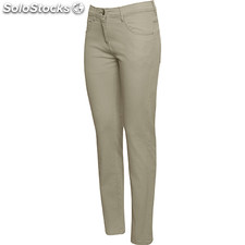 Pantalon court Femme sable foncé custom classic collection
