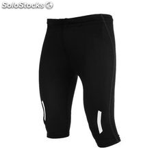 Pantalon Court Homme noir sport collection