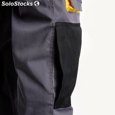 Pantalon Gris/Amarillo Largo Talla 50/52 XL