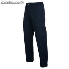 Pantalón largo Hombre 38 azul marino workwear collection