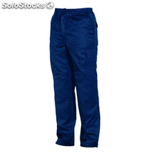 Pantalón largo Hombre 44 azul marino workwear collection
