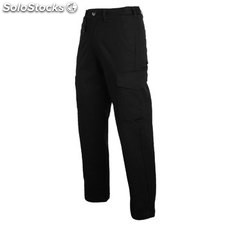 Pantalón largo Hombre 44 negro workwear collection