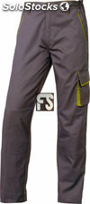 Pantalón M6PAN panoply (color : gris/verde) (tallas : s (34-36))