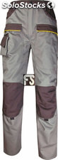 Pantalón MACH2 corporate panoply (color : beige/gris) (tallas : l (42-44))