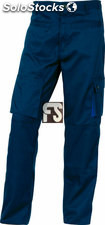 Pantalón MACH2 panoply delta plus. (color : negro/gris) (tallas : s (34-36))