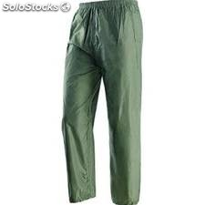 Pantalone in nylon, spalmato internamente in PVC
