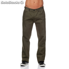 Pantalones 5 bolsillos indian verdes - the indian face - 8433856037937 -