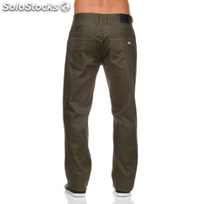Pantalones 5 bolsillos indian verdes - the indian face - 8433856037982 -