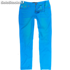 Pantalones 5 pockets usa tif royal blue - royal blue