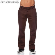 Pantalones chinos urban classics marrones - the indian face - 8433856038606 -