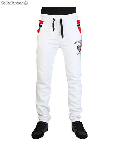 pantalones de chándal hombre geographical norway blanco (32018)