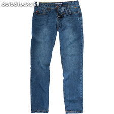 Pantalones vaqueros tif blue label medium stone wash - medium stone wash - the