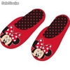 Pantuflas Minnie Mouse Topos