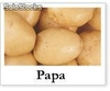 papas por mayor
