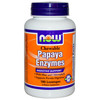 Papaya Enzymes - 180 tabs mastic. - Now foods