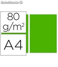 Papel a4 100h 80grs verde intenso liderpapel 53164 pc61
