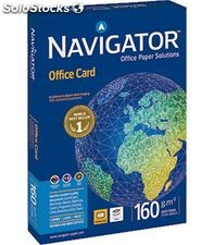 Papel a4 250h 160grs blanco office card navigator 381377