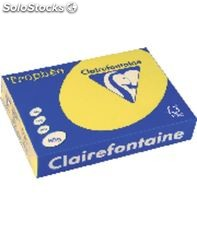 Papel a4 500h 80grs amarillo intenso clairefontaine 1877c 732174