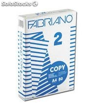 Papel a4 500h 80grs blanco copy 2 fabriano f41021297