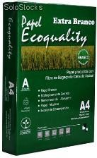 Papel a4 75 Ecoquality - Extra Branco