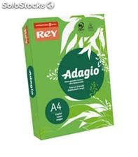Papel a4 80gr 500h verde intenso adagio 10299