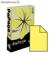 Papel a4 80grs 500h amarillo intenso clairefontaine papago 21216 114052