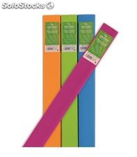 Papel crepe 0,50x2,50m 60% verde helecho canson