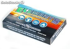 Papel de fumar elements 1 1/4 (78 mm) bloc 300 hojas