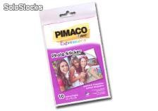 Papel foto sticker pimaco