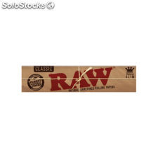 Papel fumar raw king size slim
