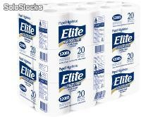 Papel Higiénico Elite 20 mts Ultra hoja triple extra blanco