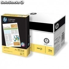 Papel HP everyday 5 paquetes x 500 hojas para impresion laser o inkjet. mas